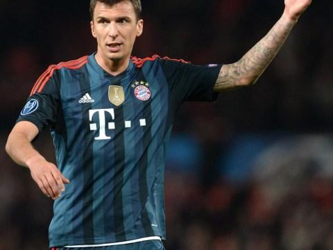 Arsenal set to be pipped to Bayern Munich's Mario Mandzukic by Chelsea