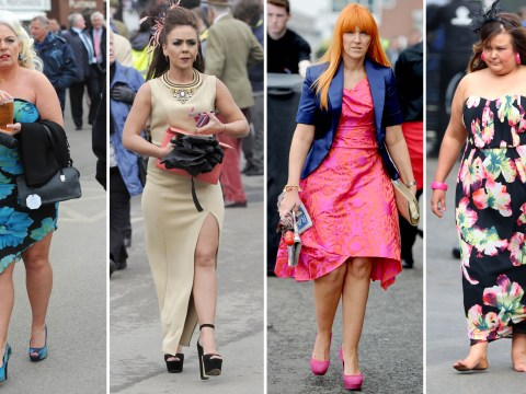 Ladies under starters order for the fashion stakes at Aintree Grand National