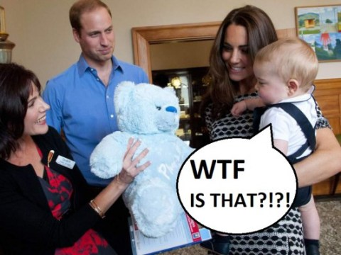 The weird, wonderful and WTF gifts given to the Royal Family in 2014