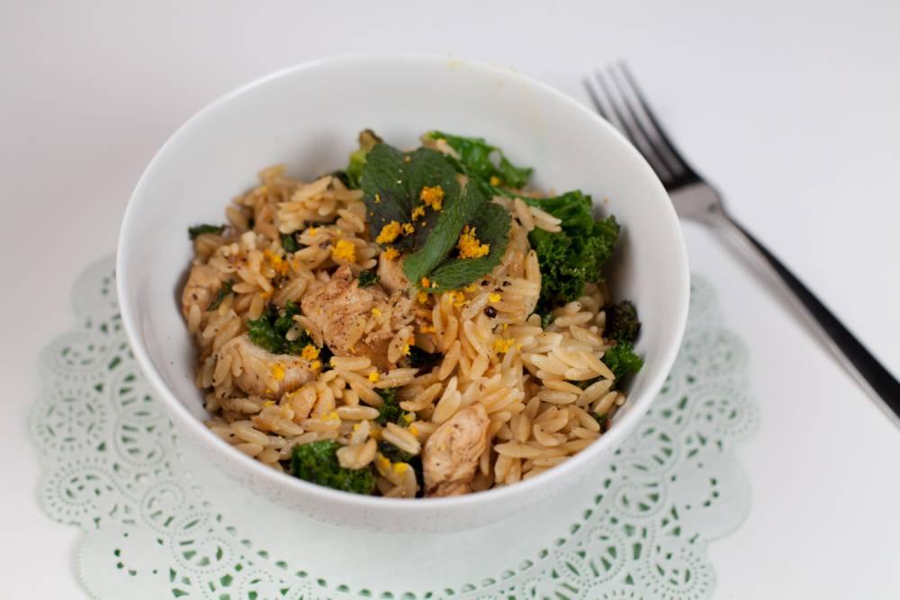 Recipe: How to cook springtime orzo