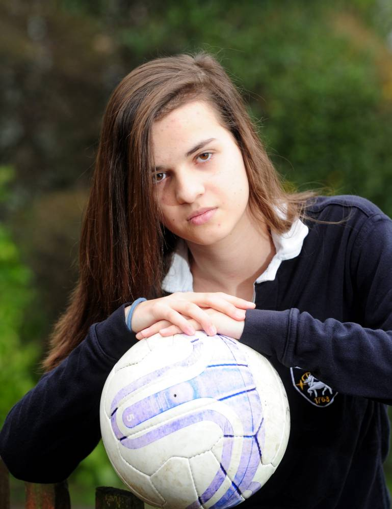 14-year-old banned from local football team because she's Spanish