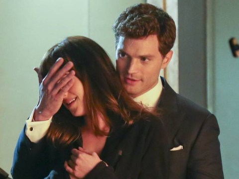 Fifty Shades Of Grey's cast admit they haven't seen the finished film yet