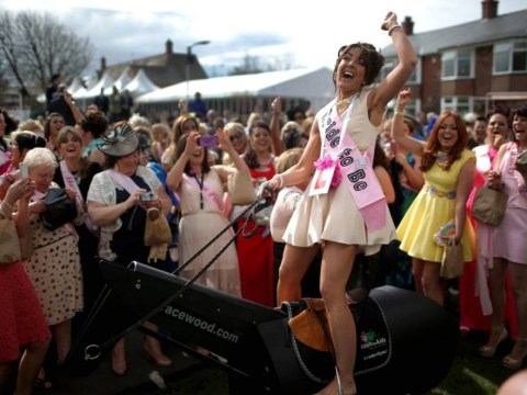 Ladettes of Ladies' Day steal the show at Aintree Grand National meeting