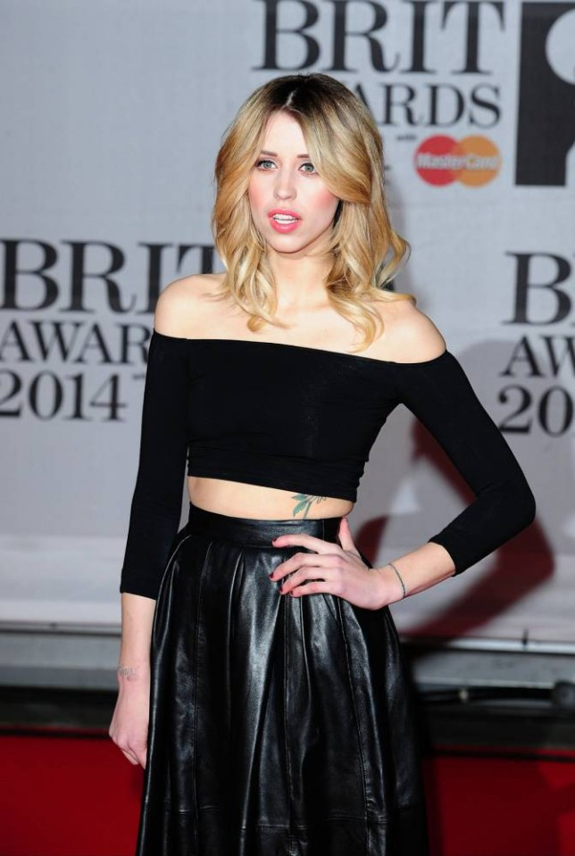 File photo dated 19/02/14 of Peaches Geldof, who has died at the age of 25, the BBC reported tonight. PRESS ASSOCIATION Photo. Issue date: Monday April 7, 2014. See PA story DEATH Peaches. Photo credit should read: Ian West/PA Wire