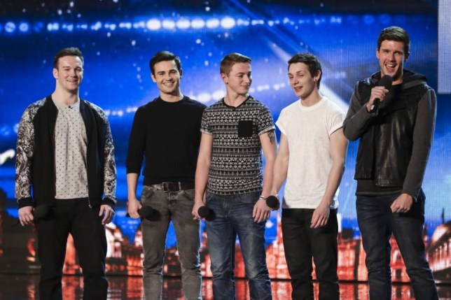Undated handout photo issued by ITV of Collabro during the London auditions for this year's ITV1 talent show, Britain's Got Talent.  PRESS ASSOCIATION Photo. Issue date: Saturday April 12, 2014. See PA story SHOWBIZ Talent. Photo credit should read: ITV/PA Wire NOTE TO EDITORS: This handout photo may only be used in for editorial reporting purposes for the contemporaneous illustration of events, things or the people in the image or facts mentioned in the caption. Reuse of the picture may require further permission from the copyright holder.