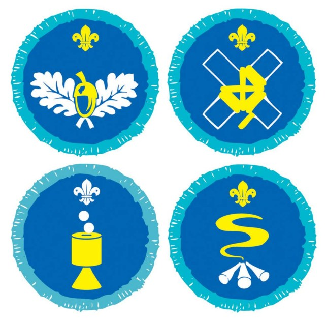 In with the new: Badges will recognise survival skills, pioneering and collecting (Pictures: PA)