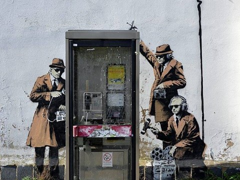Locals fight to keep graffiti (oh, and it's a Banksy)