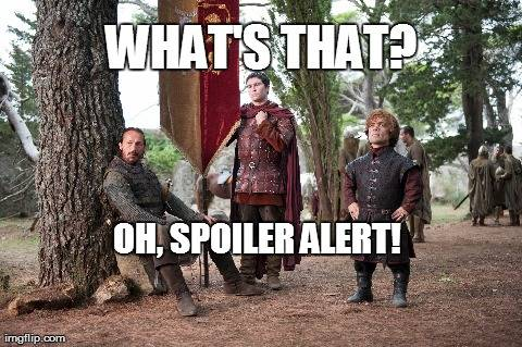 Something really epic happened in Game Of Thrones – Twitter imploded and you basically just couldn't deal with it