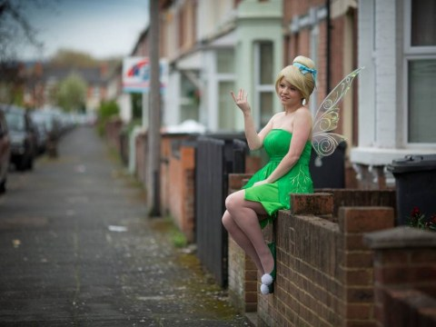 Meet the woman who dresses up as a Disney princess after work