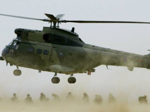 Five British military personnel killed in Afghanistan helicopter crash