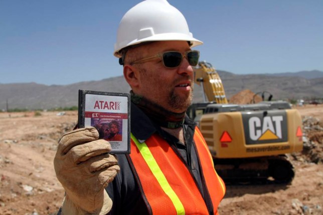 'E.T. the Extra-Terrestrial', Atari