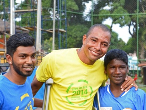 World Cup winner and former Arsenal midfielder Gilberto Silva plays down expectations on Brazil