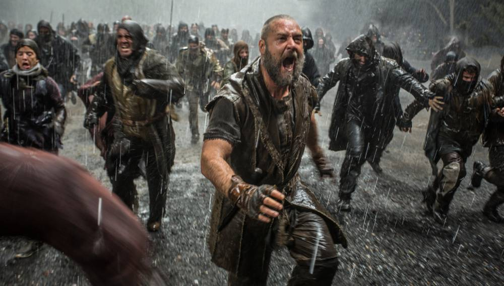 Noah: Russell Crowe holds together a film that's madder than a box of frogs