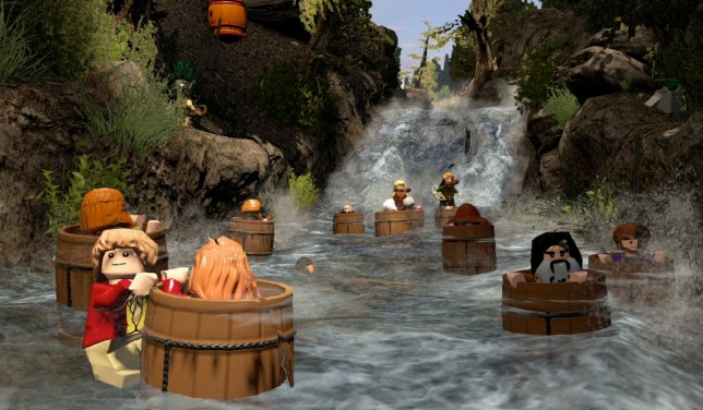 Lego The Hobbit (PS4) - not really a barrel of fun