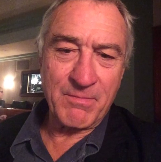Robert De Niro has 'dad moment' with first ever Vine video