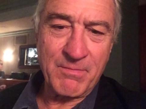 Robert De Niro has 'dad moment' with first ever Vine video