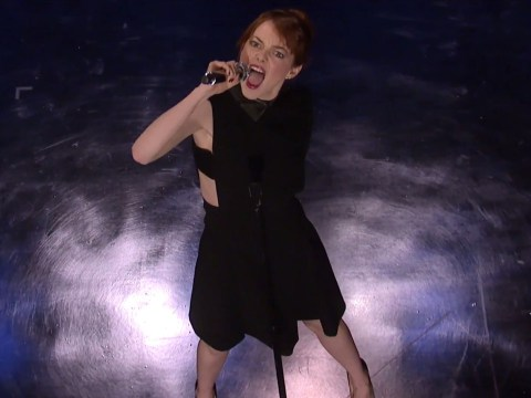 Emma Stone leaves spiders senses tingling after hilarious lip-syncing rap on Jimmy Fallon show