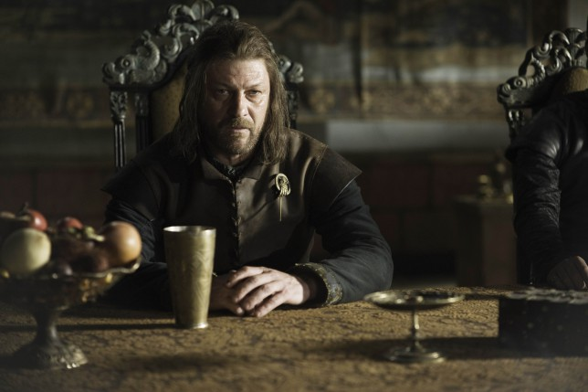 Game Of Thrones Sean Bean as Ned Stark