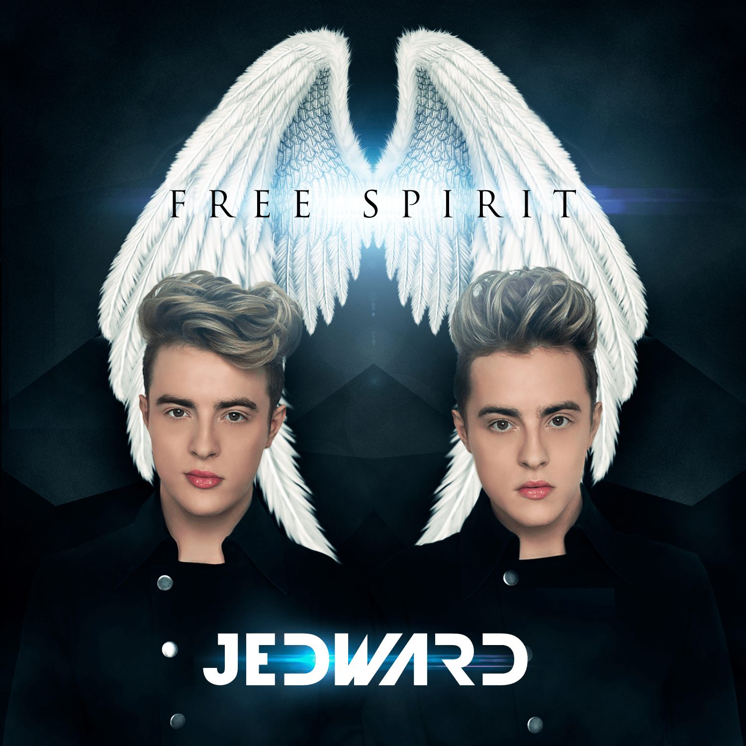 Jedward are back with fourth album Free Spirit (Picture: Official album cover art)
