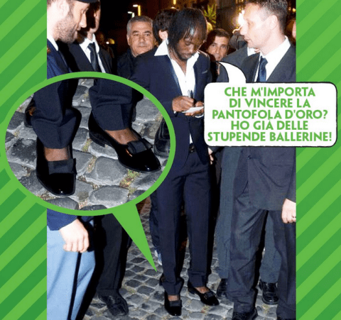 Ex-Arsenal star Gervinho wears women's shoes on night out
