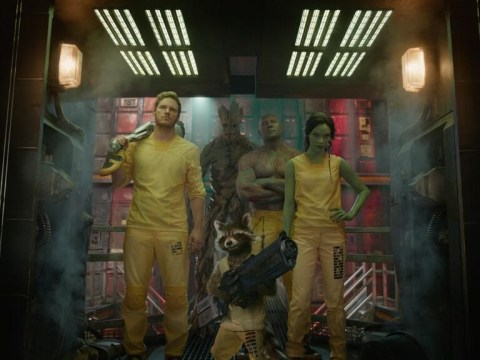 The Guardians of the Galaxy wear space prison uniform well in super cool new picture