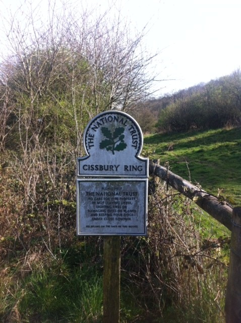 Cissbury Ring: no litter or fires, but running yourself ragged is fine