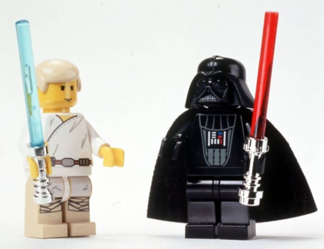 The Dark Side: Lego bring joy to millions of children... but it could 'destroy their souls' (Picture: File)