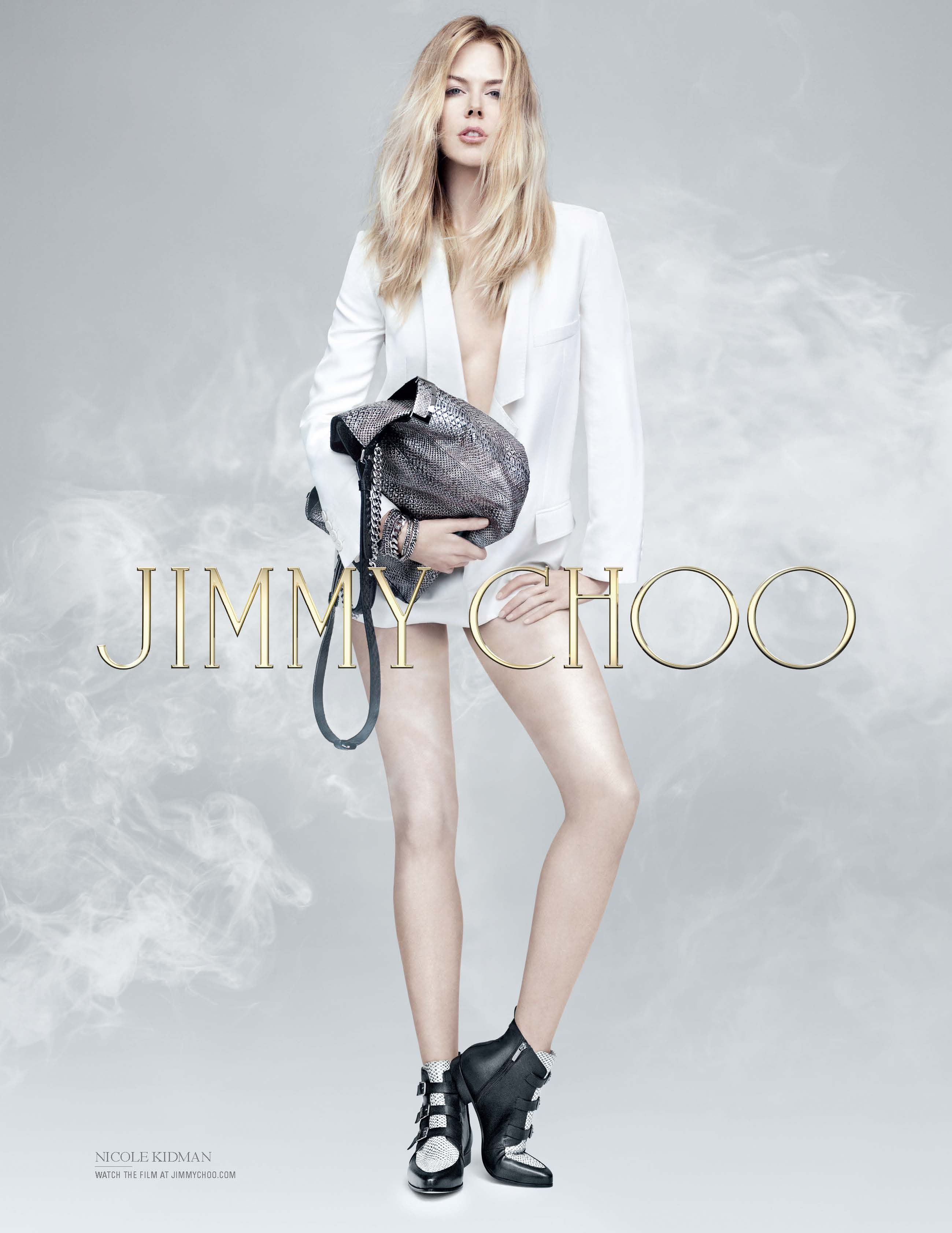 Nicole Kidman in Jimmy Choo's pre-fall 2014 campaign: Remind you of anyone?