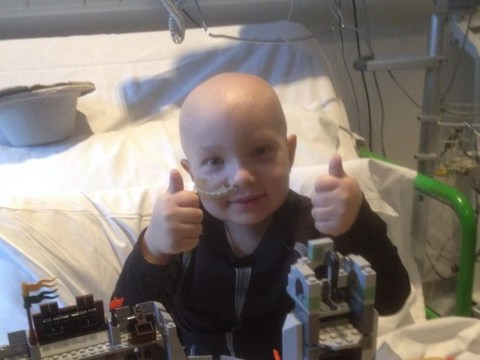 Seven-year-old boy fights back against cancer twice and is set to return home within weeks