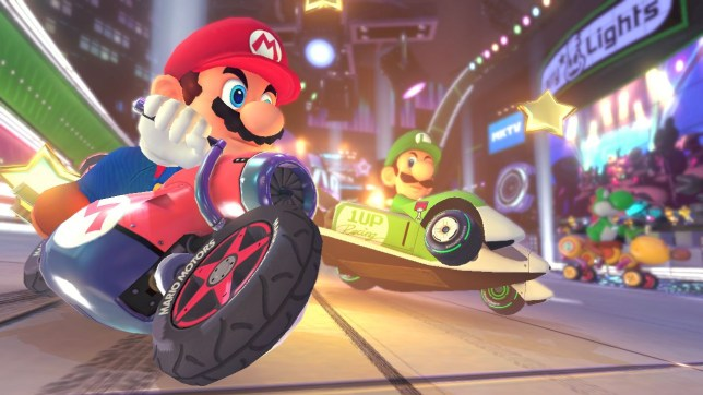 Mario Kart 8 - freeing you from the tyranny of blue shells