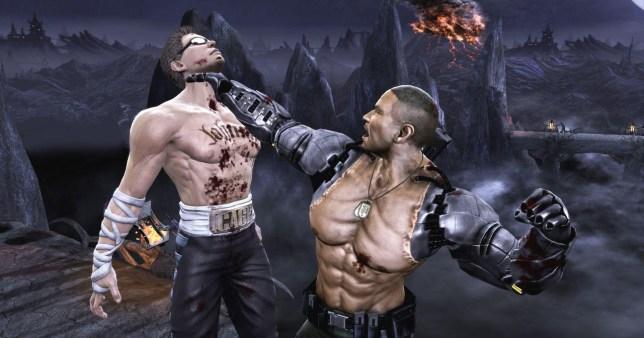 Mortal Kombat – not the best graphics ever