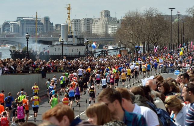 It's not just the runners who have a tough day ahead (Picture: PA)