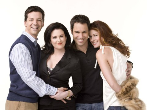 Sorry to be the bearers of bad news, but there isn't going to be a Will and Grace reunion