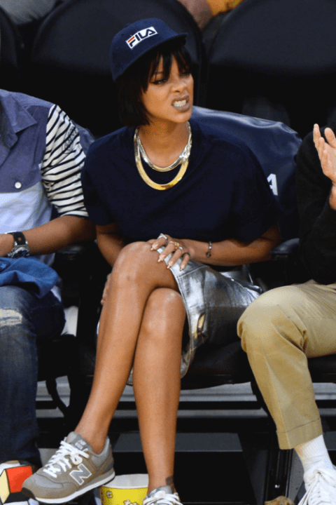 Rihanna and Pharrell's New Balance trainers are a UK success