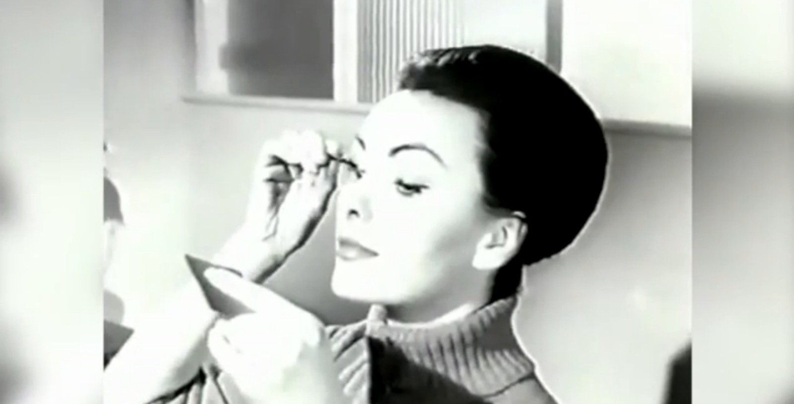Go Gay hair lacquer, Madam? Beauty regimes have changed a bit over the last 50 years