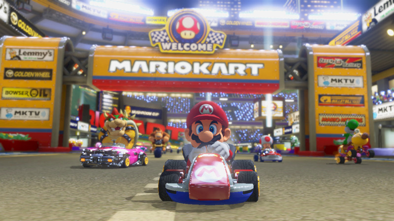 Mario Kart 8 - it's finally out today
