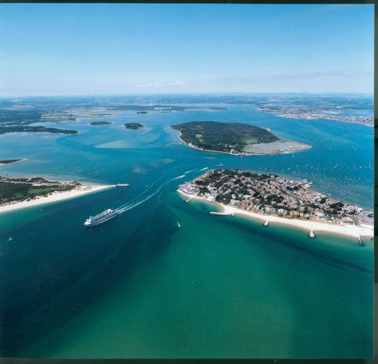 Poole Harbour, Sandbanks and Studland Beaches and Brownsea Island (Picture: Sue Sieger  Images courtesy of  Poole Tourism)