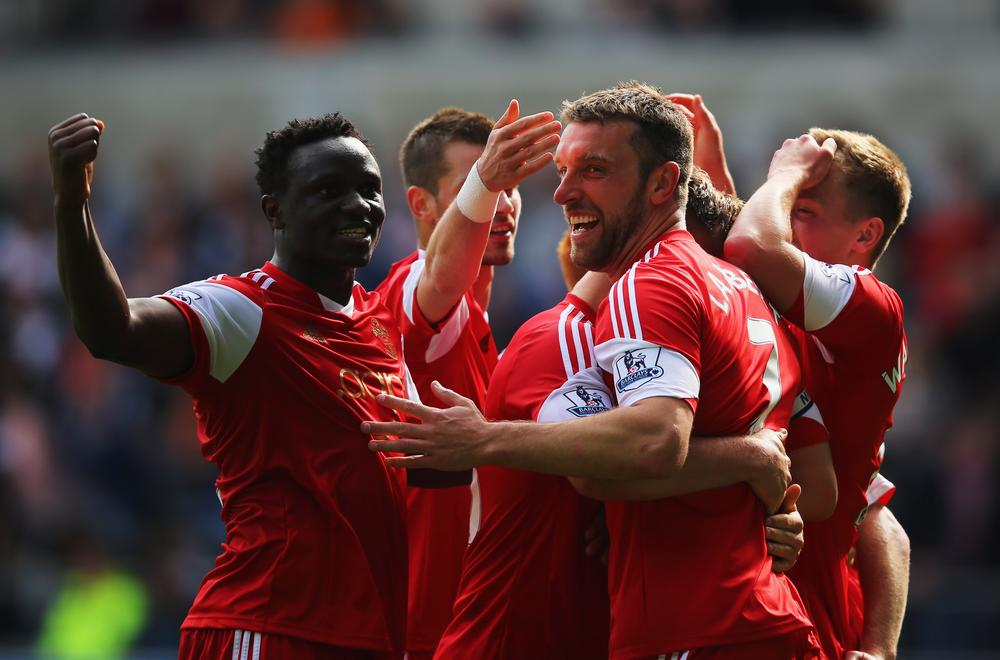Rickie Lambert's record-breaking Southampton sink Swansea