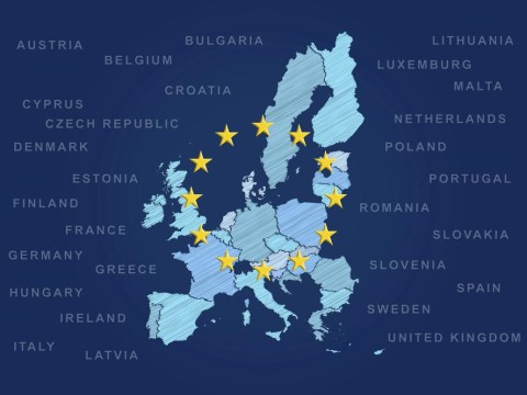 How many of these European counties can you locate on a map?