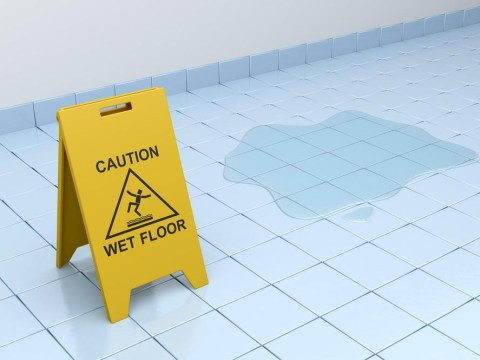 Teacher awarded £23,000 after slipping in a puddle at school