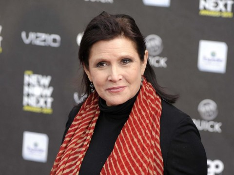 Carrie Fisher is finding all the Star Wars 7 secrecy a bit tricky: 'It's like D-Day'
