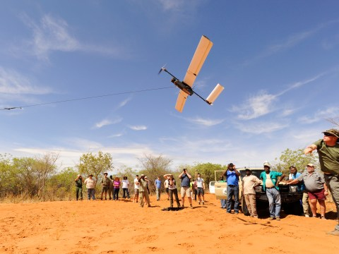 Rhino-saving drones: How UAVs are being used for wildlife conservation