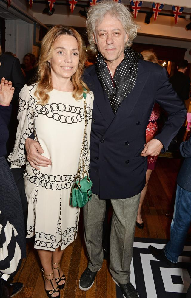 Sir Bob Geldof engaged to marry girlfriend of 18 years Jeanne Marine as Peaches' toxicology results due