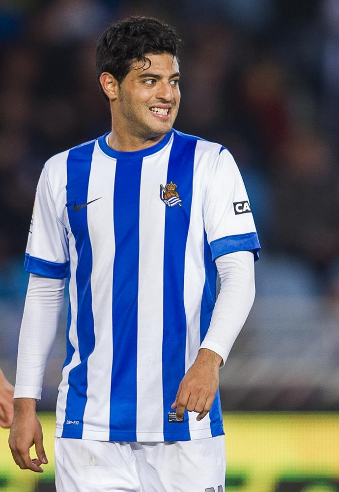 He's coming back! Arsenal set to re-sign Carlos Vela in £3million transfer