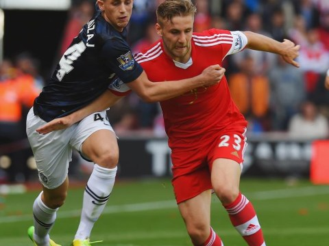 Manchester United 'agree £27m fee for Southampton's Luke Shaw'