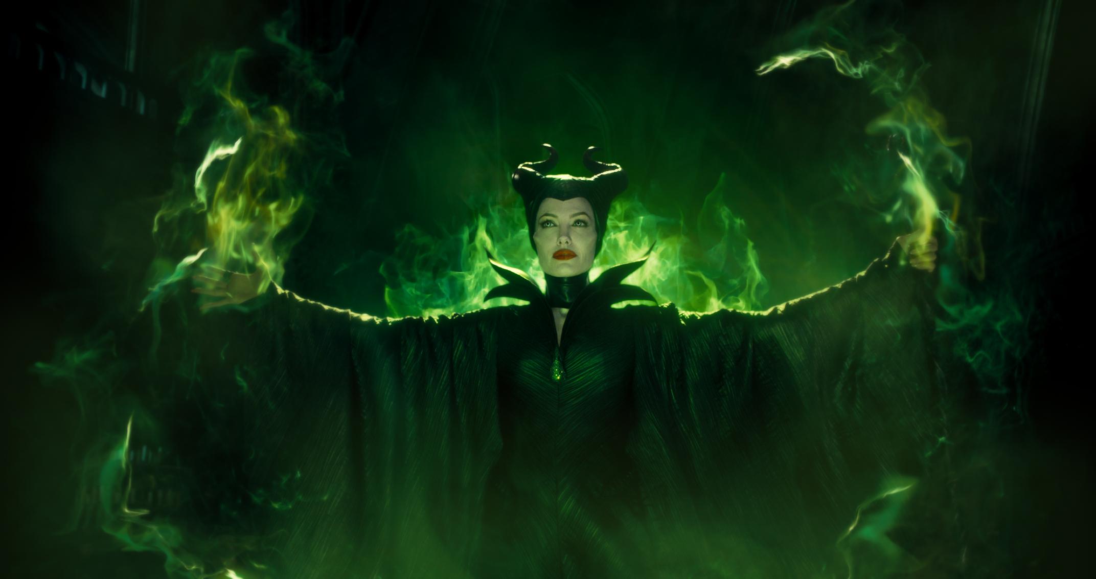 Disney's Maleficent starring Angelina Jolie