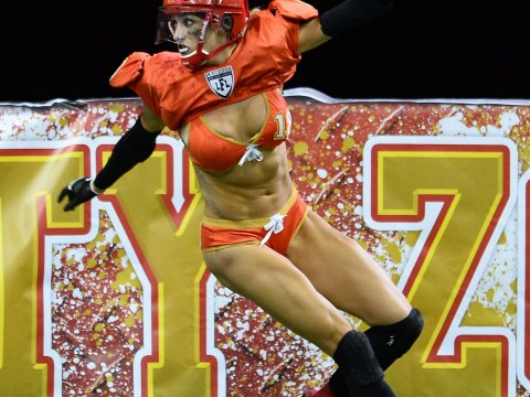 The Legends Football League – aka the Lingerie Bowl – kicks off