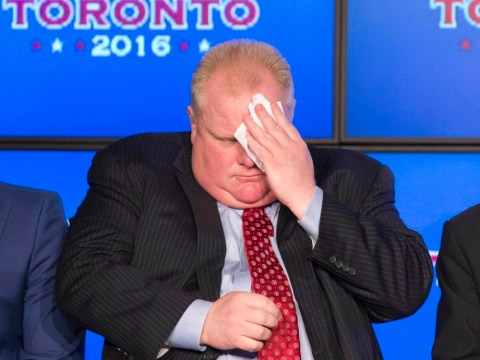 Toronto mayor Rob Ford checks into rehab after being caught smoking crack (again)