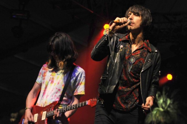 Joshua Hayward and Faris Badwan from The Horrors (Picture: Startraks Photo/Rex)