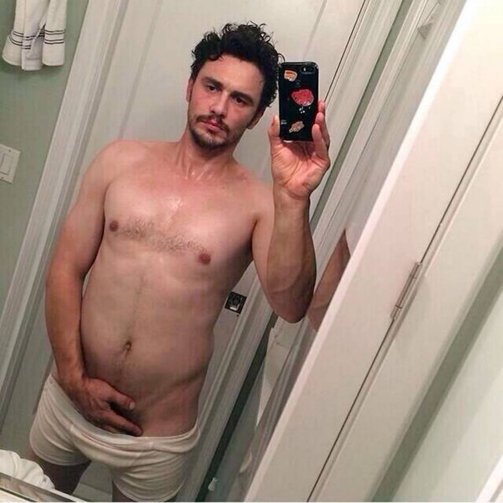 James Franco posts weirdest Instagram photo yet, and it involves a cat
